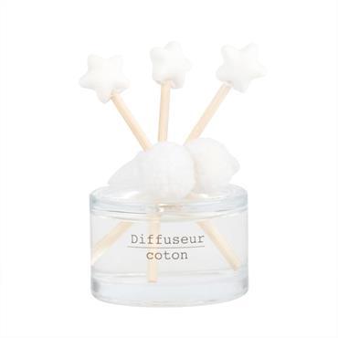 Diffuseur en verre parfum bulle de musc 30ML