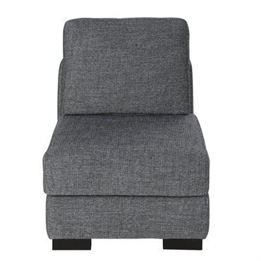 Chauffeuse de canapé gris foncé chiné Terence