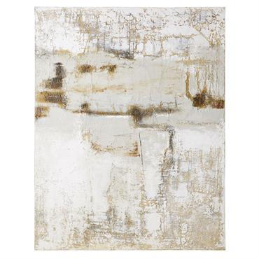 Toile peinte à relief 120x150