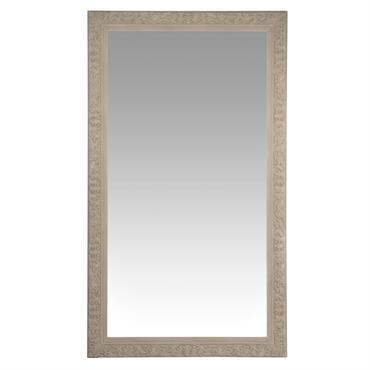 Miroir sculpté beige 120x210
