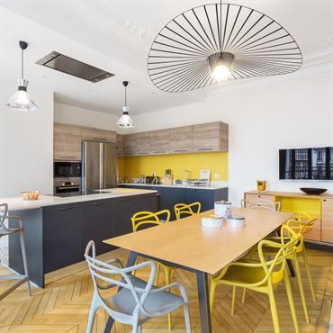 Cuisine appartement Haussmannien