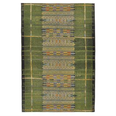 Tapis d'extérieur et intérieur durable vert 60x100 cm
