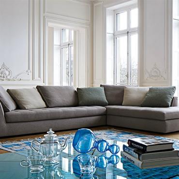 Id es d co pour un salon styl et personnalis - Salon blanc et turquoise ...