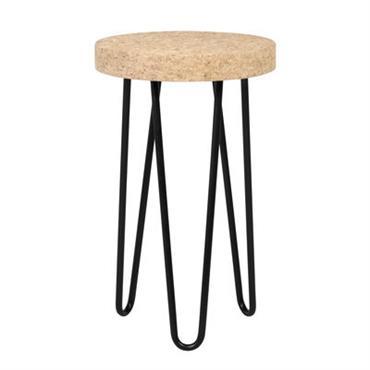 Table d´appoint Bruxelles / Liège - Ø 29 x H 47 cm