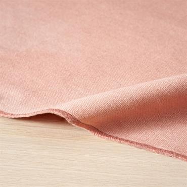 Nappe en coton rose 150x250