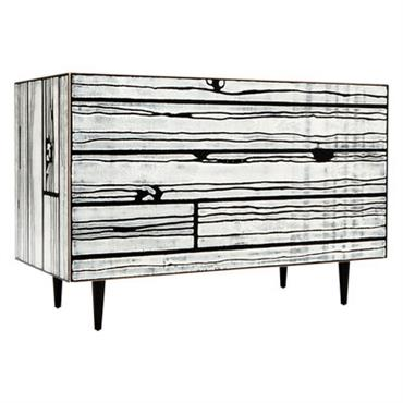 Commode Wrongwoods - Established & Sons blanc