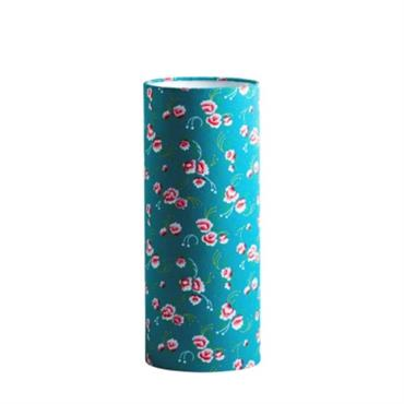 Lampe tube à poser M tissu Petit Pan Petite pivoine