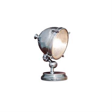 Lampe à poser phare argenté