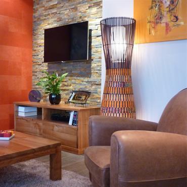 C'est pour un jeune chez d'entreprise actif, que Un Amour de Maison a entièrement repensé l'agencement et la décoration de ... Domozoom