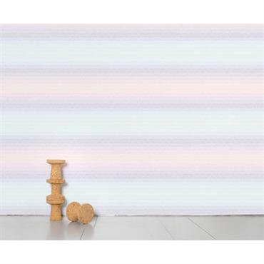 Papier peint panoramique Optical Grid / 8 lés - L 372