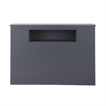 Tête de lit grise L 140 cm Tonic