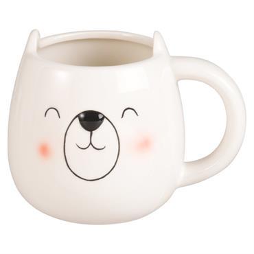 Mug ours en faïence