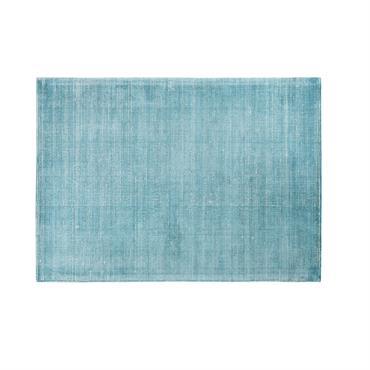 Tapis bleu pétrole 160x230