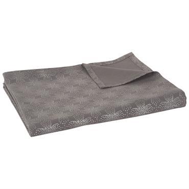 Nappe en coton gris 150x250