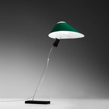 Lampe de table Glatzkopf / Papier - Ingo Maurer vert en papier