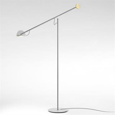 Lampadaire Copérnica / H 130 cm - Marset blanc