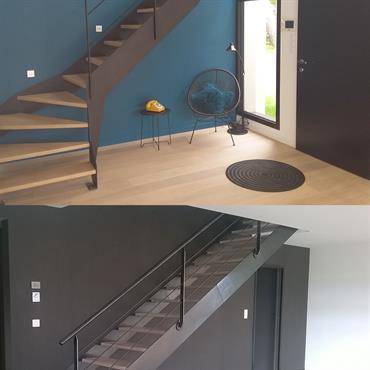 Escaliers métal déco  Domozoom