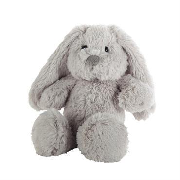 Tout doux, cet adorable lapin gris ne demande que des câlins ! Facile à attraper avec ses longues oreilles, cette peluche lapin rassurera bébé et l'accompagnera à l'heure du coucher. ...