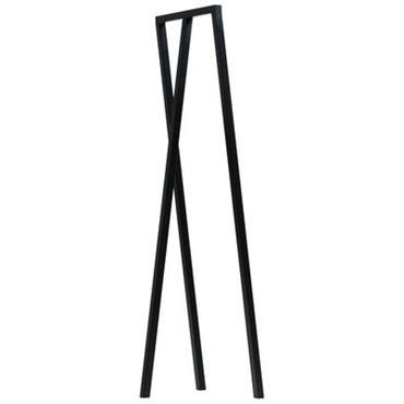 Portant Loop / L 45 cm - Hay Noir en Métal