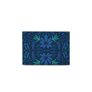 Tête de lit avec housse Bleu prusse 140 cm