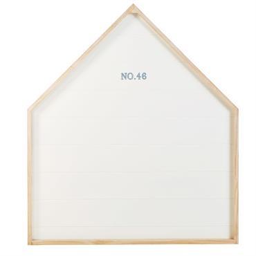 Tête de lit 90 blanche imprimé Marin