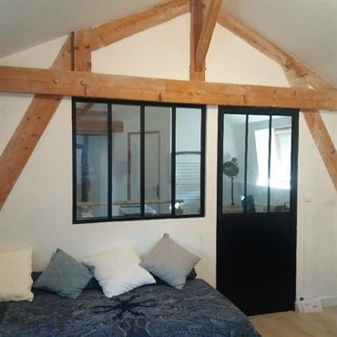 Nouvel aménagement intérieur, rénovation complète avec aménagement des combles.  Domozoom