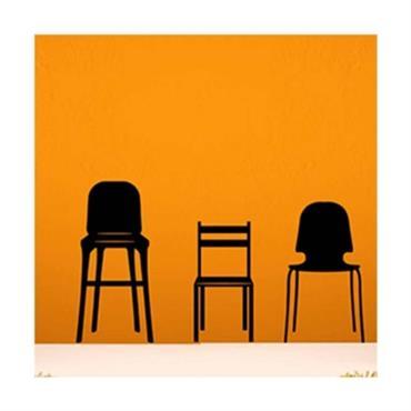 Sticker chaises murales