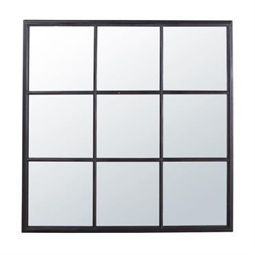 Miroir noir 118x118