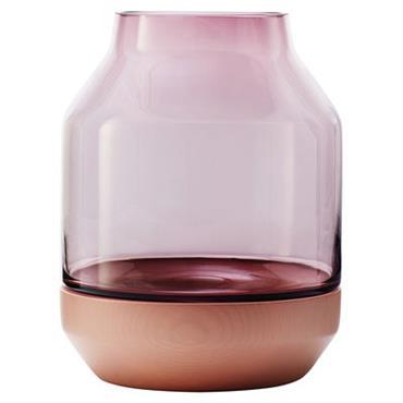Vase Elevated - Muuto rose en verre