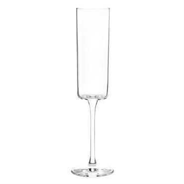 Flûte à champagne en verre H23