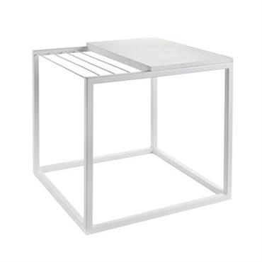 Table d´appoint Hang It Small / Porte-magazines - Marbre / 47