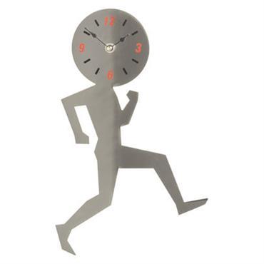 Horloge murale Diamantini & Domeniconi Design Acier inox Métal Larg 20 cm x H 32 cm Lorenzo Bustillos et Juan Carlos Viso nous propose une vision métaphorique du temps qui ...