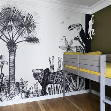 Chambre d'enfant jungle
