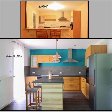 La demande : Rénovation surface totale dans un style épuré, scandinave, vintage  Domozoom