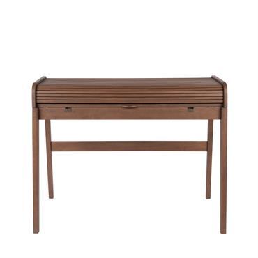 Avec ses deux compartiments internes et son couvercle coulissant, ce bureau secrétaire vintage vous offre un coin de travail pratique et design. Le bureau en bois Barbier de Zuiver saura ...