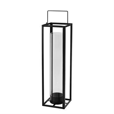 Lanterne en métal noire H 69 cm WARREN
