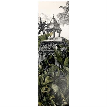 Tapis en vinyle imprimé paysage tropical 60x199