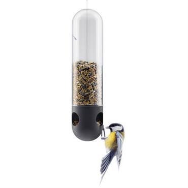 Mangeoire à oiseaux tubulaire / A suspendre - Eva Solo noir