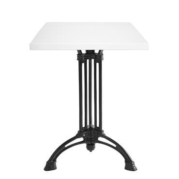 La gamme de tables Néo-bistrot proposées par Ardamez, tables émaillées au design contemporain  Domozoom
