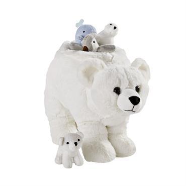 Ours polaire d'éveil blanc