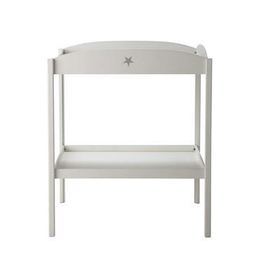 Table à langer blanche Pastel