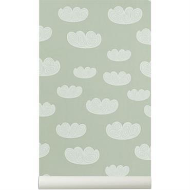 Papier peint Cloud / 1 rouleau - Larg 53 cm