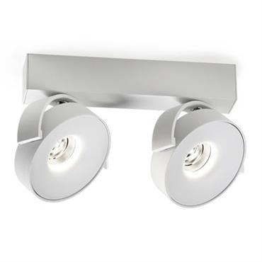 Applique Rand Reo LED / Plafonnier - 2 spots - Delta Light