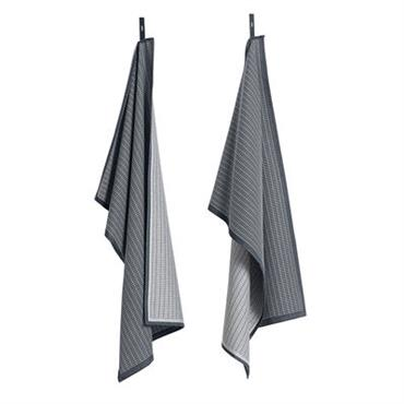 Torchon / Set da 2 - Hay vert en tissu