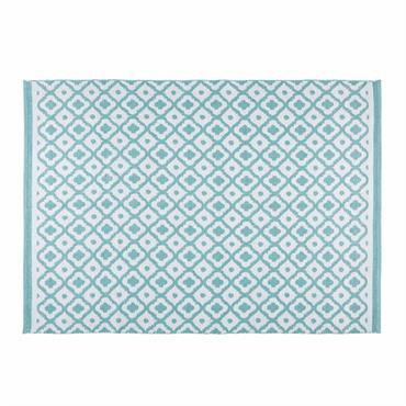 N'hésitez plus à marcher pieds nus dans votre jardin ou sur votre terasse avec le tapis de jardin à motifs géométriques JANE . Ce charmant tapis d'extérieur bleu trouvera sa ...