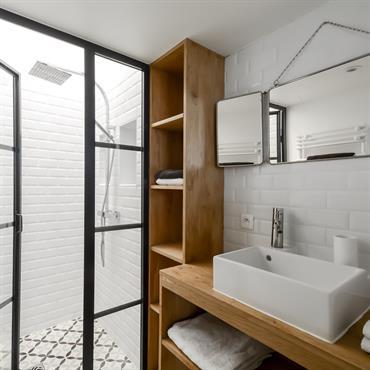 Salle de bain loft.
