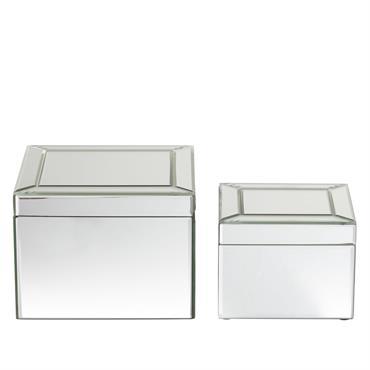 2 boîtes miroirs