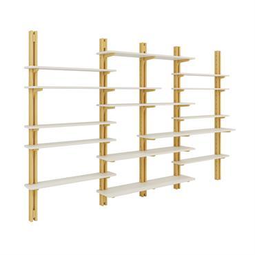 Parce qu'une pièce bien ordonnée paraît toujours plus grande, Espace Loggia conçoit des collections évolutives et sur-mesure d'armoires, d'étagères, et ... Domozoom