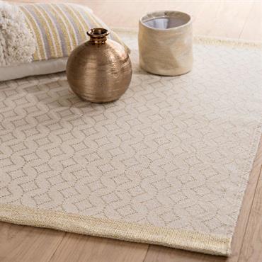 Tapis en coton à motifs 90x60
