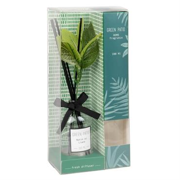 Diffuseur en verre parfum rotin et liane 100ML